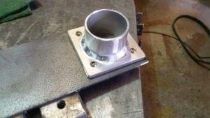 Aluminium inlet manifolds fabricated