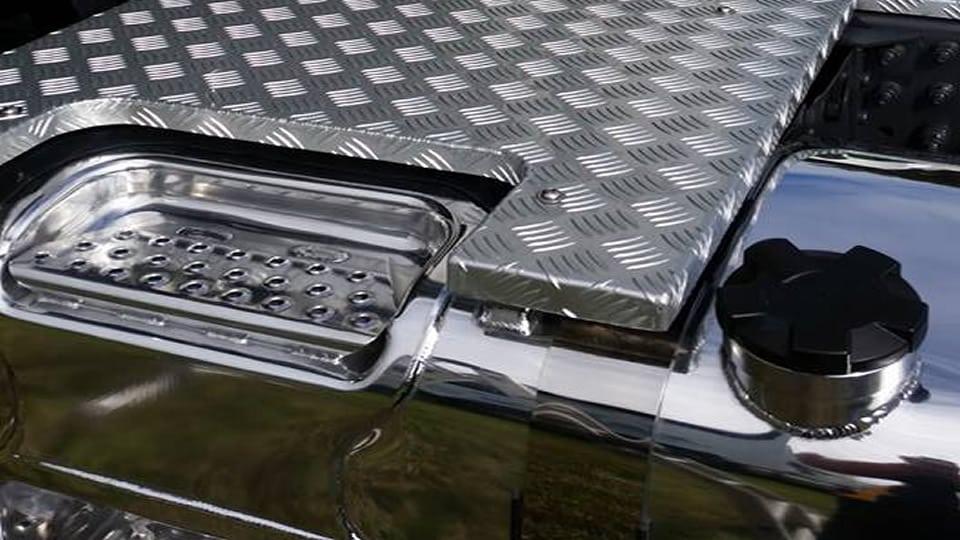 Volvo FH 500 Custom Catwalk & Back Panel | Truck Fabrication | SAS Welding Services