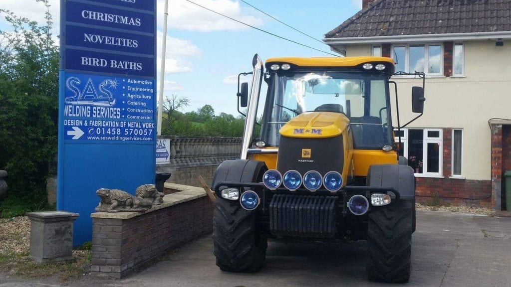 Custom JCB Fastrac Exhaust Somerset
