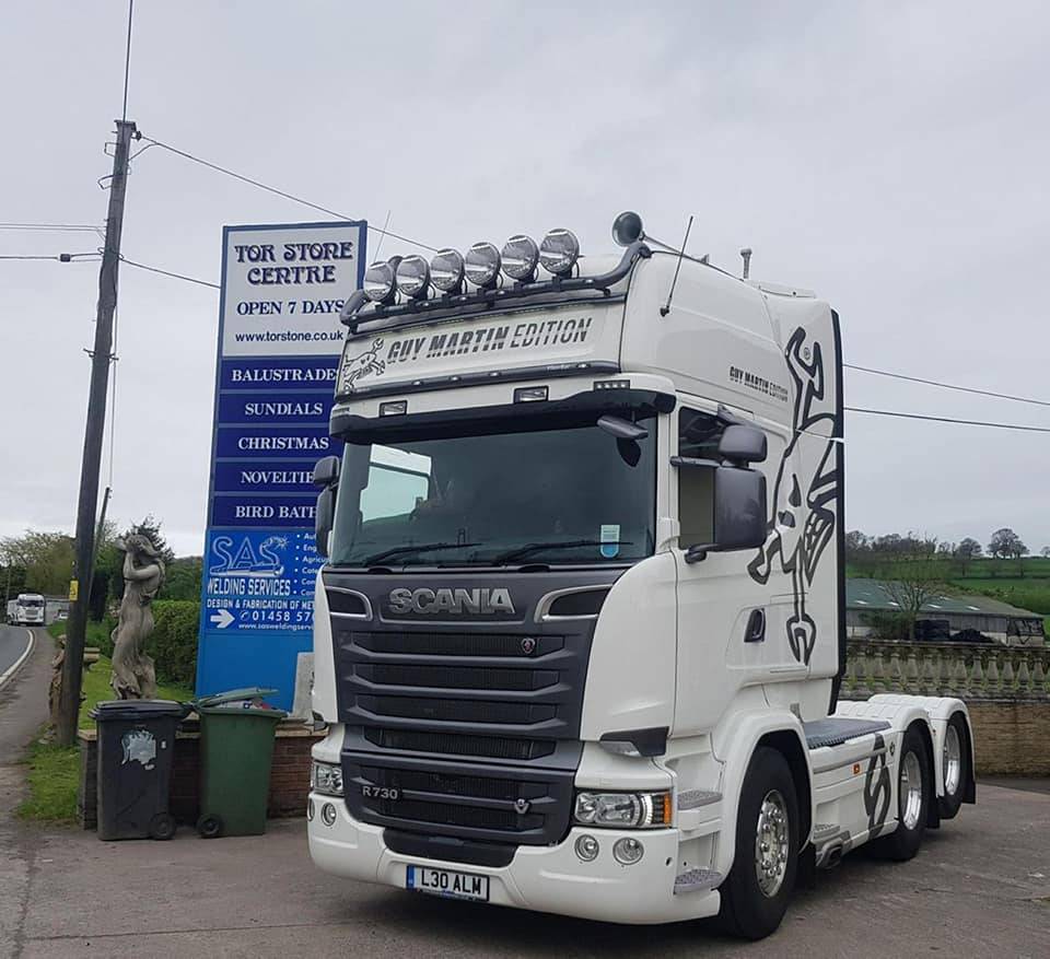 SAS Welding Services complete another Truck Transformation in Glastonbury, Somerset