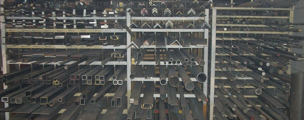 Different types of metal supplies in Somerset