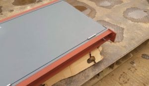 MIG Welded Security Door