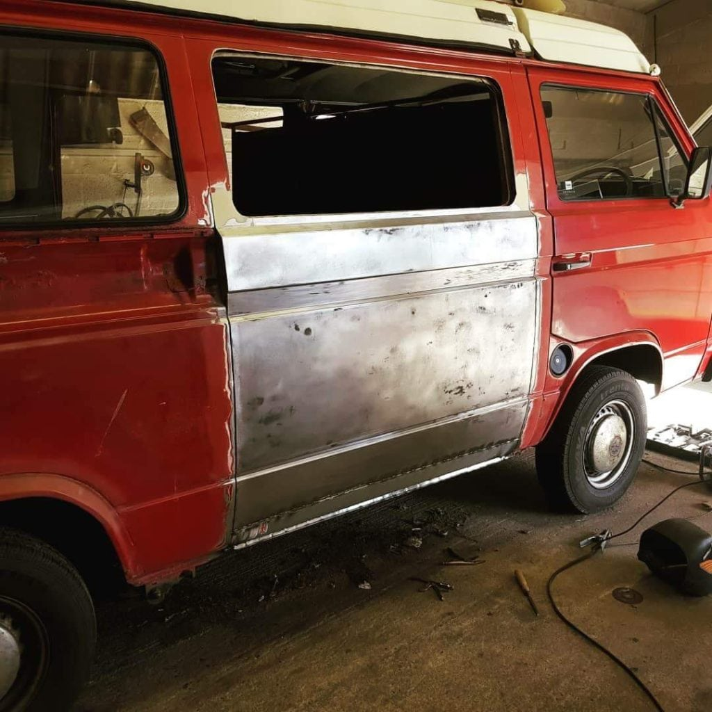 VW T25 Camper Restoration Glastonbury