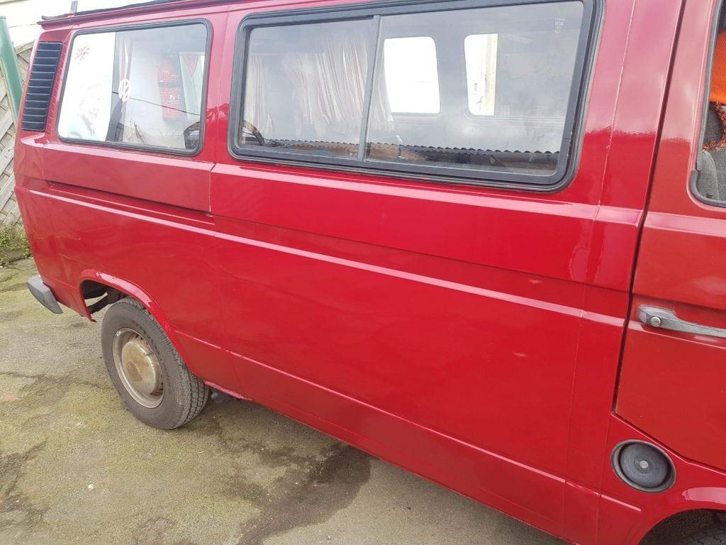 VW Camper Van Restoration Glastonbury